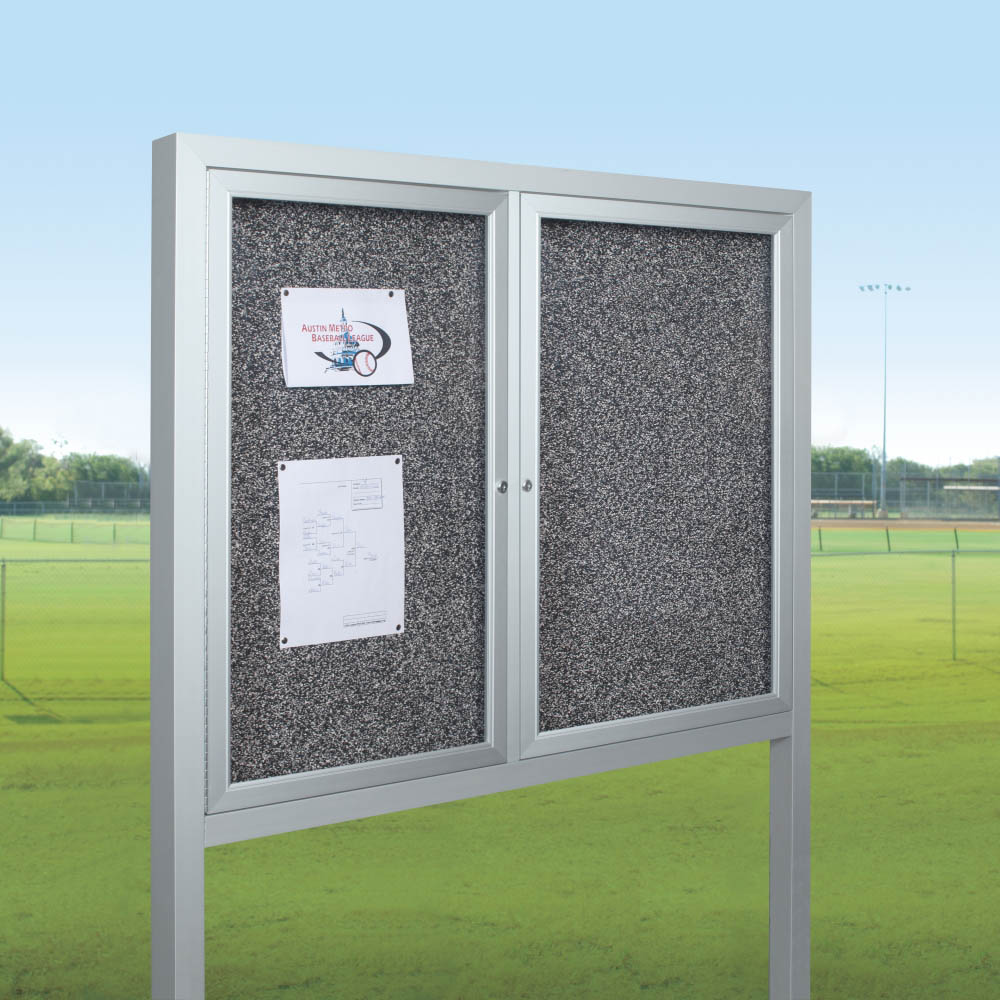 BestRite 94HACOPRT All Weather Herald Outdoor Bulletin Board