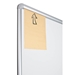 Best-Rite 212PH-BT Presidential Bite Whiteboard with Tackless Paper Holder - BestRite-212PH-BT