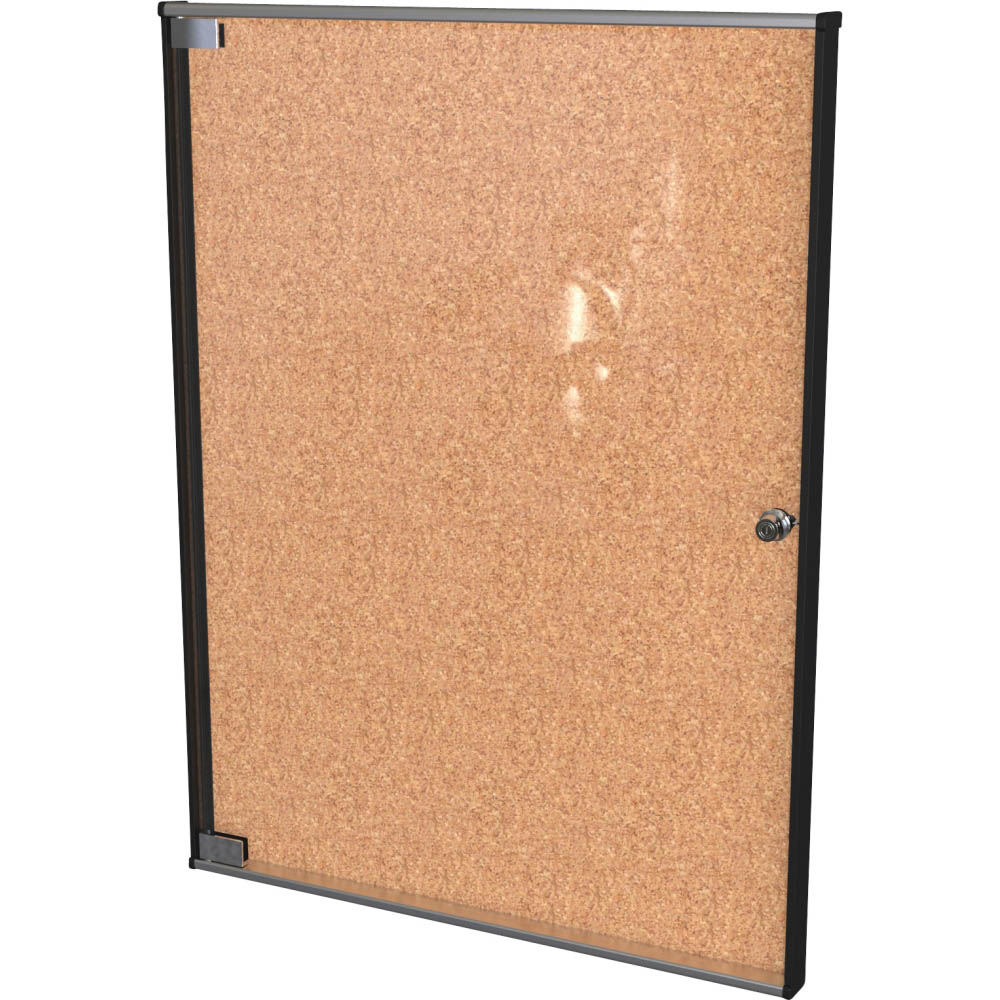 Best Rite 94US3 01 Ultra Enclosed Bulletin Board Cabinet   BestRite 94US3   ...