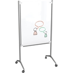 Best-Rite 74954 Enlighten Mobile Glass Whiteboard