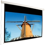 Mustang SC-E100D43 Electric Projector Screen 100 diag.(60x80) - Video [4:3] - Matte White - 1.0 Gain