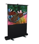 Mustang Pull Up Projector Screen 100 diag. (59x79) - Video [4:3] - Matte White - 1.0 Gain
