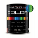 Projector Screen Paint - Custom Color Match with 1.2 Gain - HD 1080P,3D and 4K Capable - Gallon