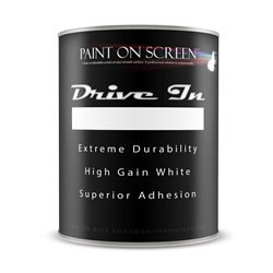 Projection / Projector Screen Paint - Drive In - Projection Paint for Drive In Theaters - 5G00DIT - 5 Gallons
