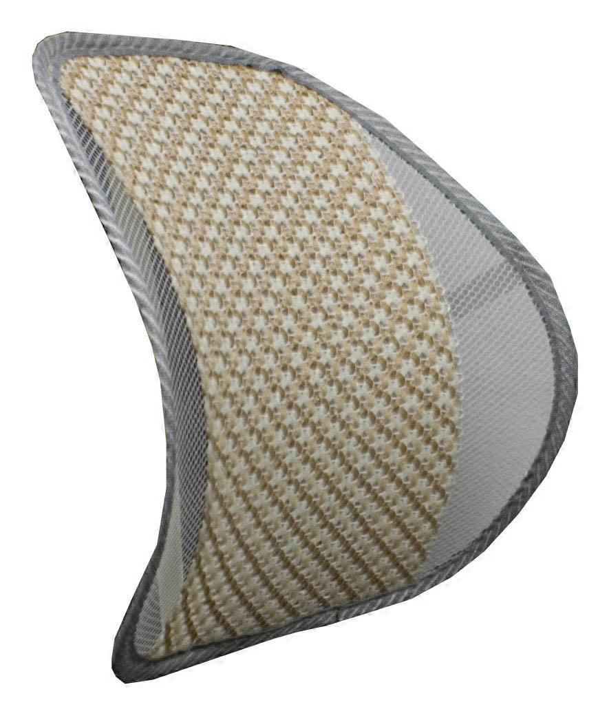 Qvs Lbp 2a Premium Ergonomic Lumbar Back Support With Woven Pad