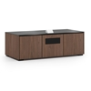 Salamander Designs Siena 237S EPS Cabinet for integrated Epson UST Projector - Medium Walnut, Black Top - X3/EPS2/237S/SN/MW/BK