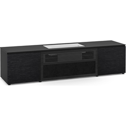 Salamander Designs Chicago 245S Cabinet for integrated LG UST Projector - Black Oak, Black Top - X/LG1/245S/BO/BK