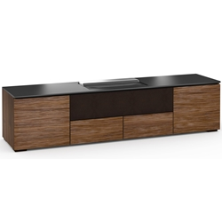 Salamander Designs Denver 245 Cabinet for integrated Hisense UST Projector - Medium Walnut - X/HSE245DV/MW