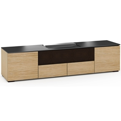 Salamander Designs Denver 245 Cabinet for integrated Hisense UST Projector - Natural Oak - X/HSE245DV/NO