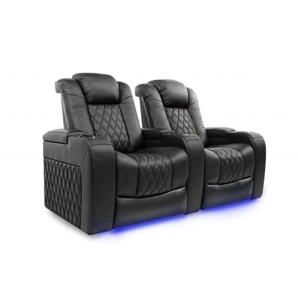 Valencia Tuscany Motorized Home Theater Seating Top Grain Leather