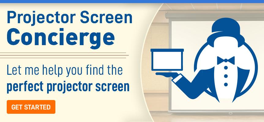 Projector Screen Concierge